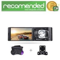 Media Player Monitor Mobil LCD 4.1 Inch FM Radio Rear Camera - 4012B