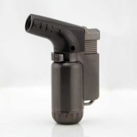 Korek Api Gas Butane Torch Jet Windproof - HITAM