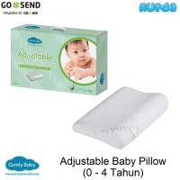 Comfy Adjustable Baby Pillow 4in1 Bantal Bayi dan Anak Anti Peyang