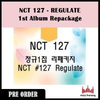 NCT 127 REGULATE 1st Album Repackage
