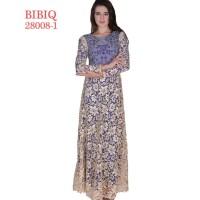 BIBIQ KODE 28008-1 /Gaun Pesta Muslim/Gamis Brokat/Gaun/Gamis/Gaun