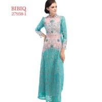 BIBIQ KODE: 27938-1 /Gaun Pesta Muslim/Gamis Brokat/Gaun/Gamis/Gaun