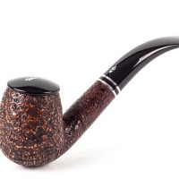Savinelli Monsieur Brown Sandblasted 602 (6mm) - Pipa Cangklong Briar