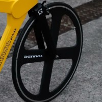 DENNOS 4SPOKE depan 700c fixie roadbike