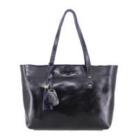 Tote Bag Kulit Premium Alexandra Dark Navy