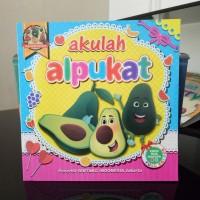 Buku Anak, buku cerita bergambar Seri Buah, dua bahasa - bilingual