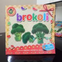 Buku Anak, buku cerita bergambar Seri Sayuran, dua bahasa - bilingual