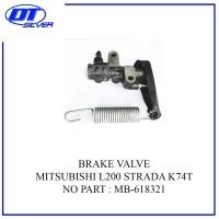 BRAKE VALVE ASSY-PEMBAGI MINYAK REM MB-618321 L200 STRADA K74T