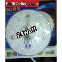 LED Refill Ceiling Lamp 24watt 24 watt 24w - LED Modul - TL Ring Led