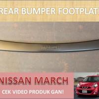 Rear Bumper Footplate Nissan March