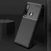 SAMSUNG GALAXY S10 PLUS SOFT CASE AUTO FOCUS CARBON ORIGINAL SILICONE
