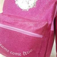 Tas ransel sekolah anak sd smiggle justice glitter + kotak pensil