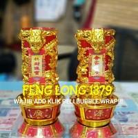 Lilin Jelly Puja Shuang Long Naga RFX5015272   Lilin Sembahyang Puja