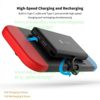 Gulikit Power Bank for Nintendo Switch - 10000mAh Replacement Battery