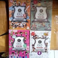 Paket 4 Novel EXO Salah Gaul 1,2,3,4