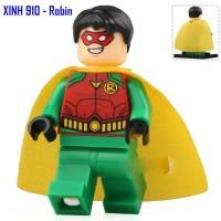 Robin XH910 DC Superman Batman Minifigure Brick X0198