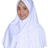 Rabbani Amira XL Kerudung Sekolah Bergo Kaos Scarf Khimar Hijab Syari