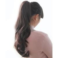 RAMBUT PALSU / ponytail ikat tali wave /hair clip/hairclip/hair