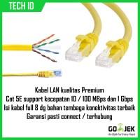 Illusion Copper Cable LAN Cat 5E 15m Kabel LAN Kabel Jaringan Cat 5E