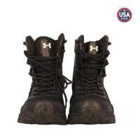 jual Sepatu Under Armour 8 Inch Boots Hitam Tactical Safety Army -