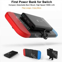 Detachable Back Mount Power Bank 10000 mAh For Switch