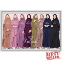 Salma Dress by Jasmine gamis saja tanpa jilbab bahan wollycrepe caltri