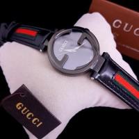 Diskon..!!! Jam Tangan Wanita Merk Gucci Type 133.3 Original Bm Free