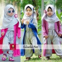 Paket Setelan Baju Muslim Untuk Anak Perempuan - Paket Cantik 3-4 Th