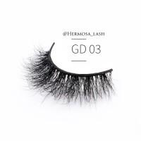 TOP premium bulumata palsu 3D mink fur false lash GD03