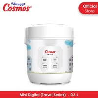 Cosmos CRJ1031 Travel Mini Digital Rice Cooker CRJ-1031 0,3 Liter