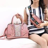 tas behel coach* shila 3315 2in1 wanita branded batam fashion import