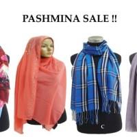 SALE! Cuci Gudang |Pashmina cantik