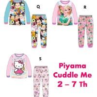 Baju/Piyama Anak Cuddle Me Frozen