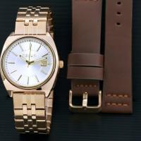 Jual jam tangan ripcurl wanita bonus tali kulit Murah