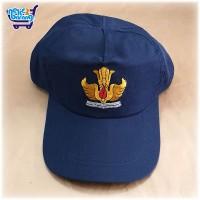 Topi SMP Biru