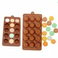 CETAKAN SILIKON ROSE MIX 15 CAV - MIX FLOWER SILICONE MOULD - CETAKAN