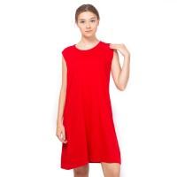 LEMONE T-shirt Cewe Spandek Premium Dress wanita 12100043
