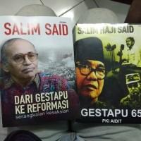 paket 2 buku Dari Gestapu 65 Ke Reformasi serangkaian Salim Said haji