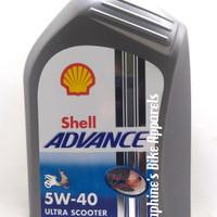 OLI SHELL ADVANCE ULTRA SCOOTER 1L 100% SYNTHETIC|NMAX AEROX PCX VARIO