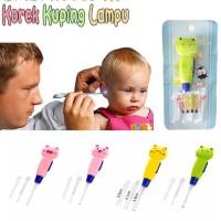 korek kuping lampu led / earpick korek kuping anak pembersih telinga