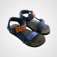 Bubbatoes Sandal Ranu – Navy - sandal anak laki laki/perempuan