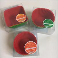 silicon cup wadah lauk bento cup food grade bekal anak lunchbox.