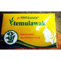 Original Sabun muka transparant soap Temulawak White esther
