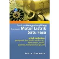 Harga buku panduan menggulung ulang kumparan motor listrik satu | antitipu.com