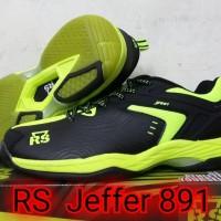 Sepatu Badminton Rs Jeffer 891 / RS JF 891 Original