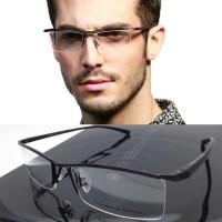 Frame Kacamata Pria Sporty Minus Baca Gantung Senur PORSCHE DESIGN