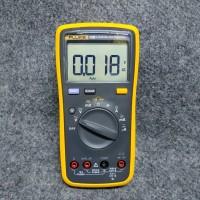Multimeter Digital + Temperature & Frequency Fluke 17B+ Original