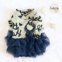 Luna TuTu Dress | Baju Anjing Kucing Dog Cat Pet Clothing