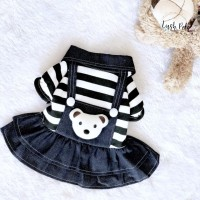 Teddy Dress | Baju Anjing Kucing Dog Cat Pet Clothing