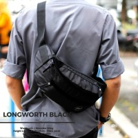Sling bag Tas Selempang Waistpack Shoulder Bag - BLESCO - Hitam